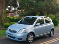 TOYOTA YARIS 1.0L TSPIRIT 2004 5DOOR MOT TILL8/8/2019 12 SERVICES HPI CLEAR EXCELLENT CONDITION