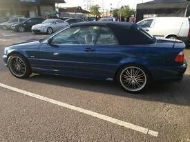 Bmw 320ci convertible in very good condition