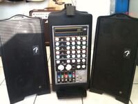 Fender Passport PD 250 Deluxe Black Version plus Self Contained PA System