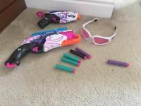 Need Rebelle guns glasses girls