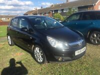 VAUXHALL CORSA 1.4 SXI BLACK AIR CON 5 DOOR HATCH PX WELCOME 2007