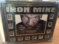 Mike Tyson Framed Signed Photo