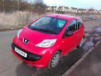 2009 Peugeot 107 Urban Lite £30 tax 1yrs mot 77000mls full history new clutch just fitted