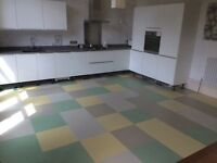 Experienced floorlayer/carpet fitter in all aspects of industrial and commercial flooring