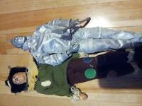 Barbies, collectable wizard of Oz dolls, Barbie clothes,