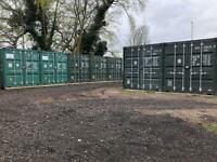 20ft shipping container units for rent in Ruislip, London as warehouse or self storage
