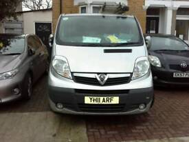 Vauxhall vivaro van ,LWB, Manual, long mot, 150k mileage,bargain £4199
