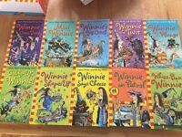 Winnie The Witch 10 book set