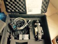 Canon XM1 Camera kit + Tripod + Flight-case