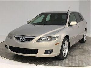 2007 Mazda MAZDA6 GS FAMILIALE, V6, INSPECTÉ, A/C, AUBAINE!!!