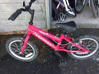 "Ridgeback Melody bike pink 16"""