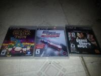 GTA 4/Need 4 Speed/South Park 160GB hard drive for PS 3