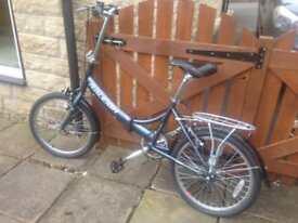 Raleigh Evo 7SP fold up bike