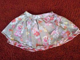 Age 3-4 M&S flowery skirt
