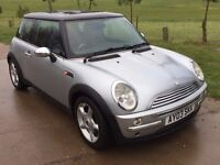 MINI COOPER 1.6 PETROL, LOW MILES, FULL SERVICE HISTORY, GREAT CONDITION BOTH INSIDE & OUT