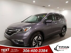 2016 Honda CR-V Touring|AWD|CAM|Leather|Sunroof