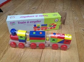 Brand New wood stacking train