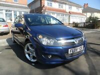 VAUXHALL ASTRA 1.8 SRI (2008) 5DR + FSH + CAMBELT CHANGED