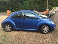 2001 VW Beetle with full mot,