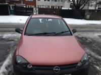 For sale or swaps Opel Corsa 1.2