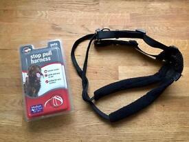 BRAND NEW: Stop/Non Pull Dog Harness: Medium - Training Lead