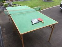 Vintage 1935 Table tennis table by Lister & Co