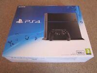Sony PS4 500GB Jet Black & 8 Games – SL09RD - £200