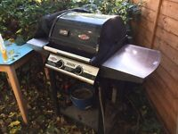 Weber Beefeater Discovery Classic 2 Burner BBQ barbecue + cover