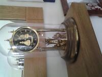 Mantle clock 300 day glass domed anniversary clock