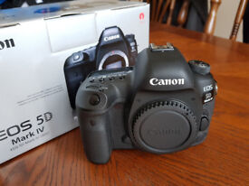 1 year old Immaculate Canon 5DmkIV