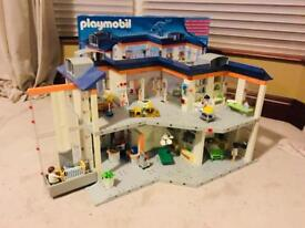 Playmobil Hospital with box and instructions