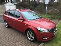 KIA CEED 1.6 CRDi 3 5dr Auto (red) 2010