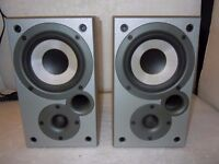 Quality Denon/Mission Speakers 75 WATTS SC-M5K made in UK NOW SOLD NOW SOLD