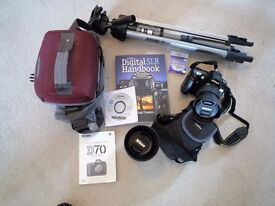 Nikon Digital Camera D70 with accessories