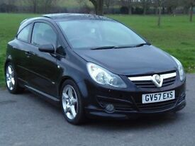 Vauxhall Corsa SRI cdti top spec with pan roof 6 gears and auto lights.