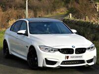 STUNNING! (2014) BMW M3 SALOON SERIES 3.0 DTC - CARBON -SAT NAV HEADS UP- PART EXCHANGE WELCOME