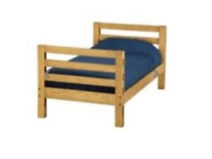 Two Twin Crate Design Beds