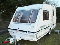 2 BERTH ABBEY FREESTYLE 400SE CARAVAN 2002 + FULL AWNING+EXTRAS + MOTOR MOVER