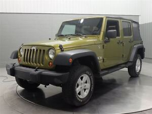 2008 Jeep Wrangler UNLIMITED SPORT4X4 A/C MAGS
