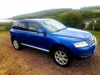 Volkswagan Touareg 2.5 TDI SPORT AUTO LEATHER TOP SPEC JEEP 4X4 LOW TAX BRACKET