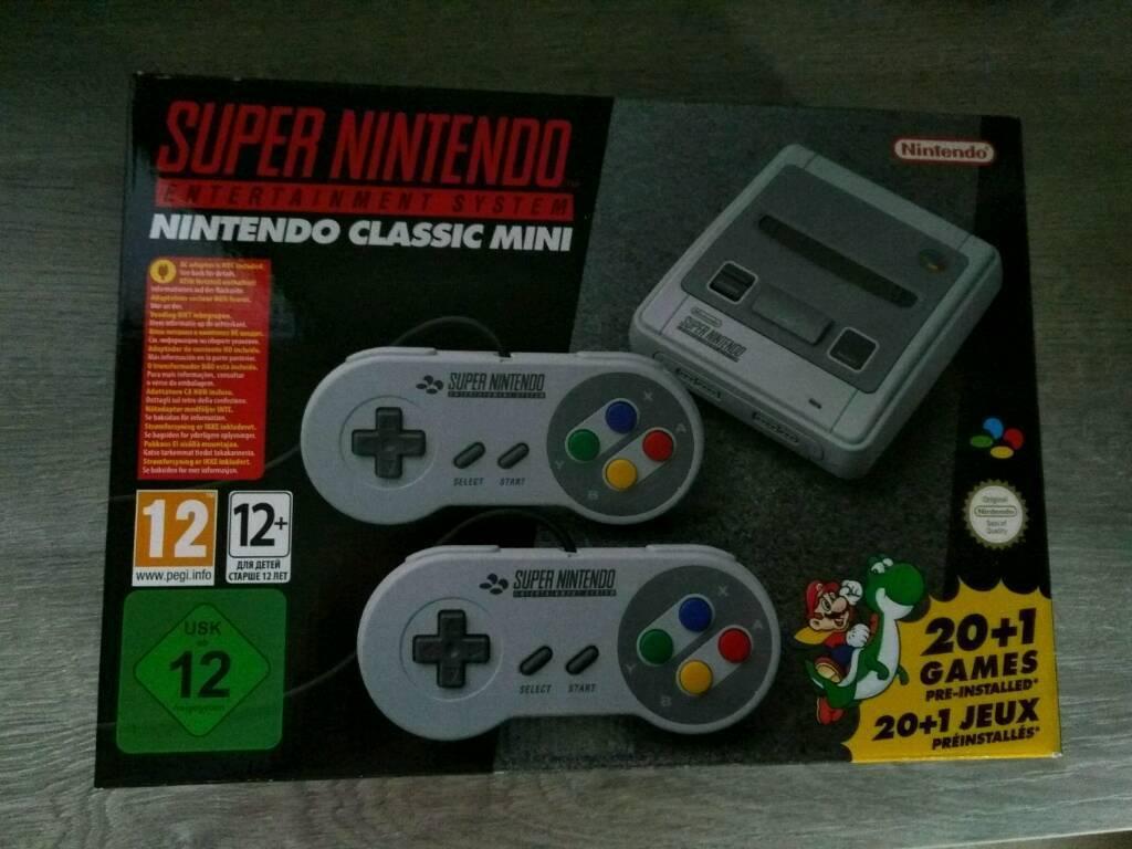 Super Nintendo Mini Classic Entertainment System