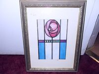 FRAMED PRINTS = CHARLES RENNIE MACKINTOSH STYLE
