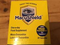 Macushield 30 tablets eye supplements new