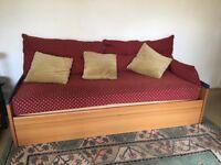 Fabulous large sofa/ double sofa bed