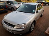 2001 Ford Mondeo 2.0 Zetec - ONLY 101k miles in VERY GOOD CONDITION - LONG MOT