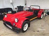 Dutton 2 Seater kit Car not Westfield cateram lotus tvr buggy track car space frame