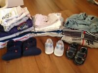 baby boy clothes 3-6 months and up