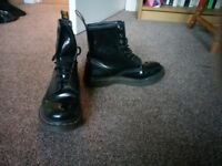 Doc Martin boots ladies size 5
