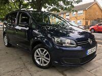 2013 Volkswagen Touran 1.6 TDi SE BlueMontion 7 Seater