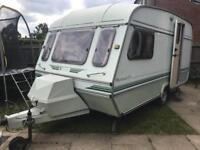 2/3 berth caravan with full awning